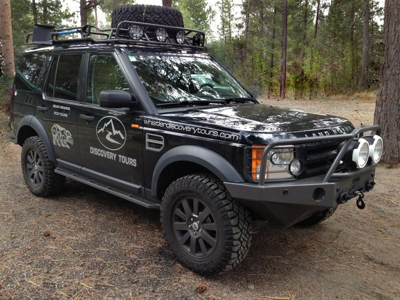Luxury Land Rover Tours